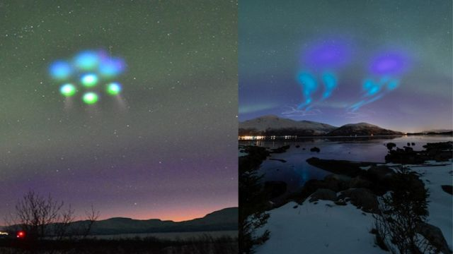 Something weird happened in the sky over Lapland and Northern Norway