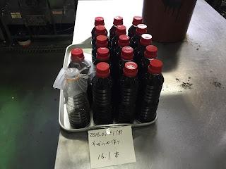 そばつゆ作り(2016.07.21)