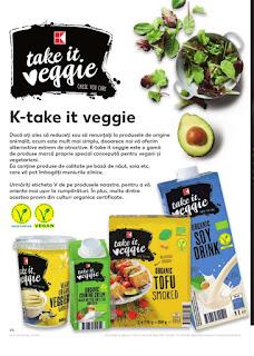 Catalog KAUFLAND 21 - 27 noiembrie produse k-take veggie