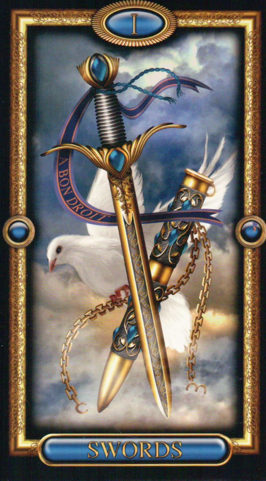The Gilded Tarot Images On: Mojo In My Soul: The Gilded Tarot-Royale Part III