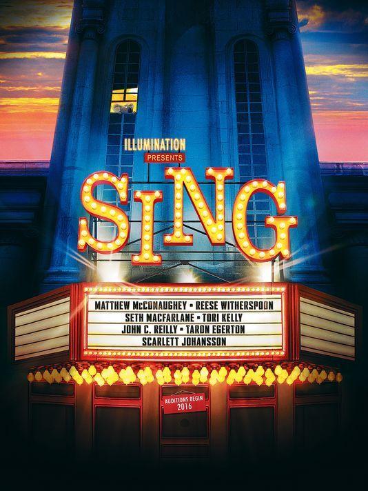 Sing [2016] [DVD9] [NTSC] [Latino]