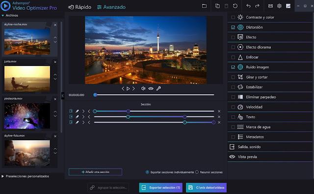 Ashampoo Video Optimizer Pro Full imagenes