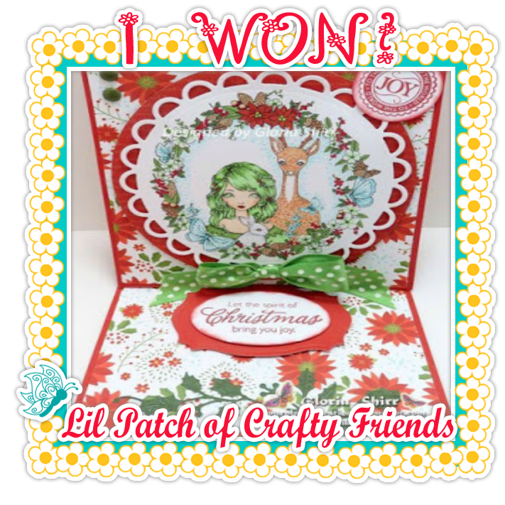 Top 3 Winner Lil Patch Of Crafty Friends Challenge Blog