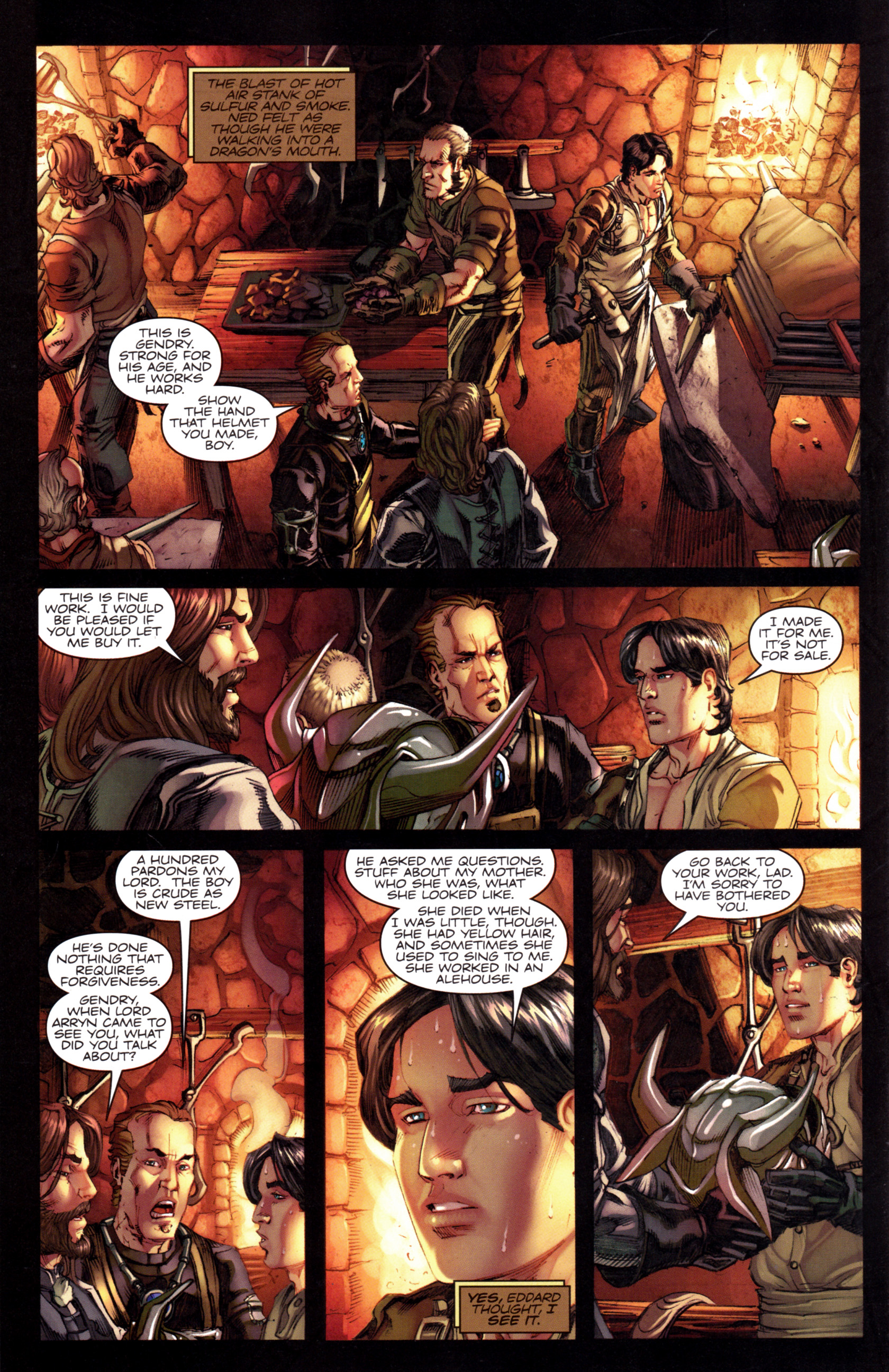 Read online A Game Of Thrones comic -  Issue #8 - 30