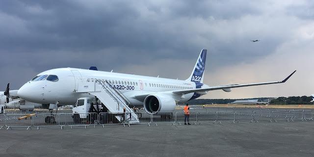 Airbus A220-300 - C-FFDD