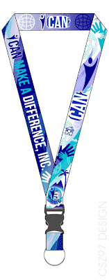 lanyard design csz97 i can make a difference foundation