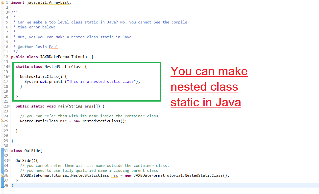 Java class, methods, instance variables w3resource.