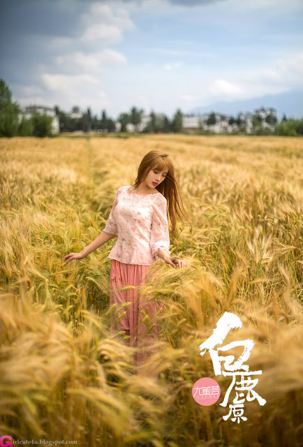 rice plant - very cute asian girl - girlcute4u.blogspot.com (1)