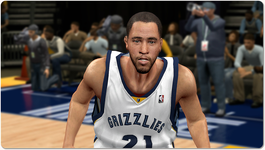 NBA 2K14 Tayshaun Prince Face Patch