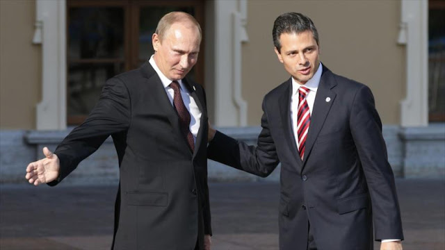 """Mexicanos piden ayuda de Putin para eliminar su """"mal Gobierno"""""""