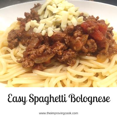 how to make spaghetti bolognese easy