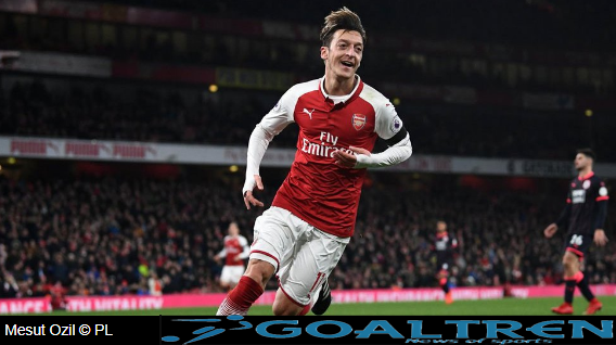 "alt=""never doubted the quality of playmaker Mesut Ozil's play"""