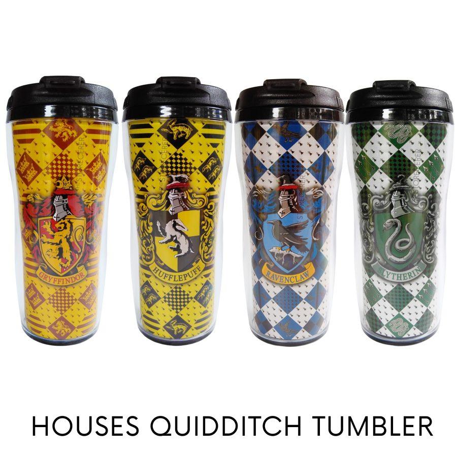 tumbler hogwarts quidditch