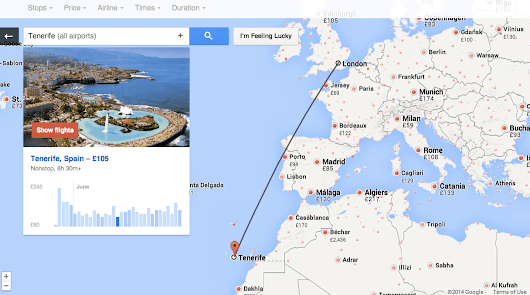 Feeling Lucky? Explore flights in fun, new ways with Google