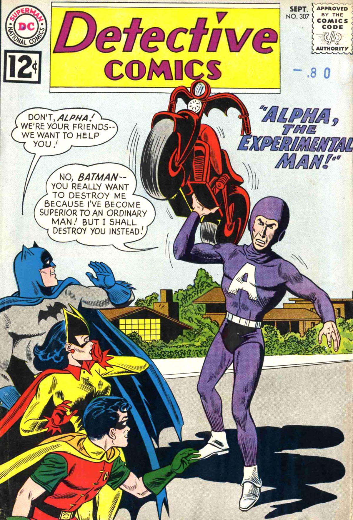 Detective Comics (1937) 307 Page 1