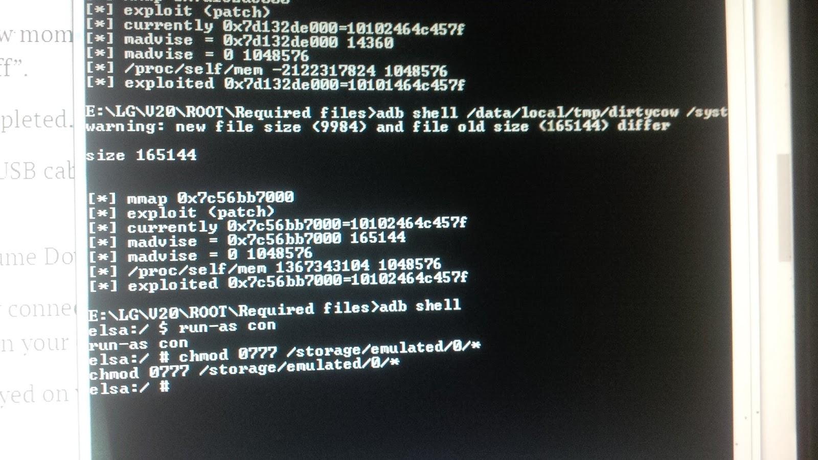 Hướng dẫn] Root - Unlock BootLoader - Cài TWRP Recovery LG V20 ~ LGV