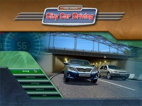 تحميل لعبة City Car Driving قيادة السيارات داخل المدينه كامله