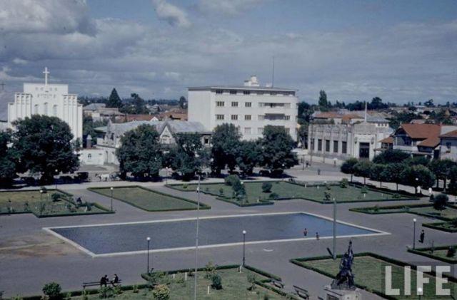 Plaza de armas de Osorno - Archivo Life