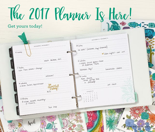 Just ordered my new planner!!
