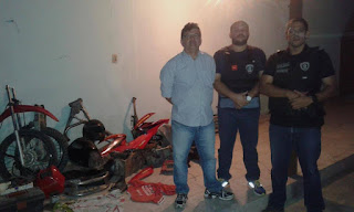 Polícia de Nova Floresta desarticula desmanche de motos na zona rural de Picuí