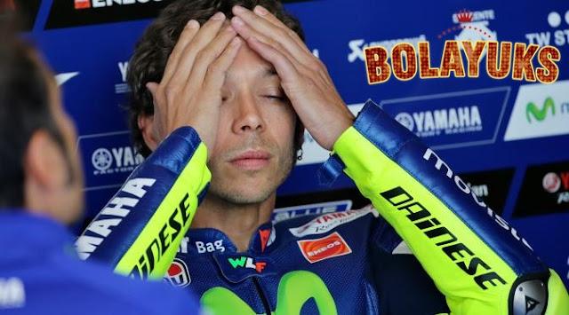 Ini Komentar Rossi, Setelah Gagal Podium di MotoGP Jerman