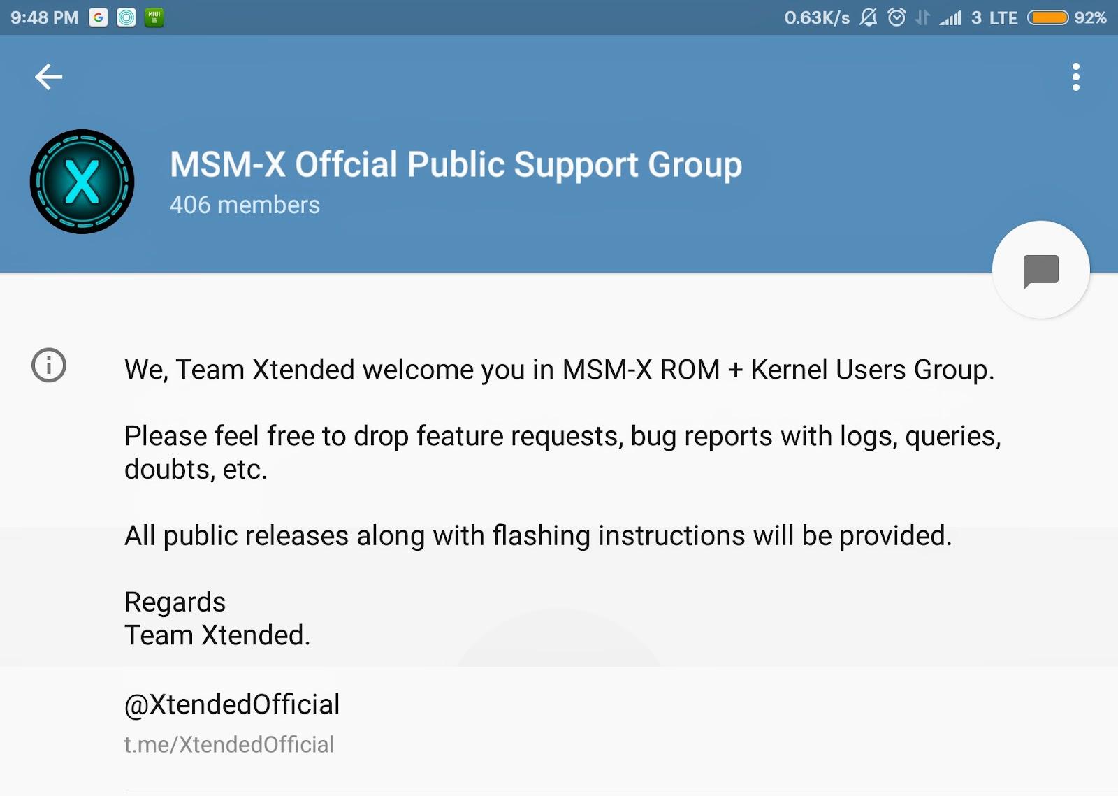 Mi MSM Xtended Oreo 8 1 ROM
