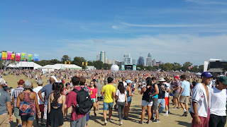 the crowds at the Austin City Limits festival were huge