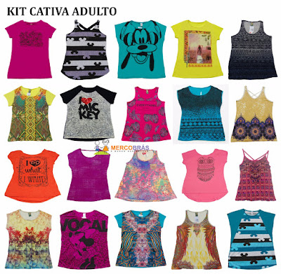Kit de Blusas Cativa