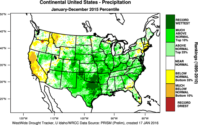 The Next Two Maps Show Precipitation Across The Country The First Is The Departure From Normal While The Second Shows The Rankings Since 1895
