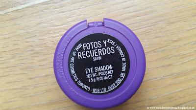 MAC Cosmetics, Selena, MAC X SELENA, Selena Collection, Selena Quintanilla, Fotos Y Recuerdos, eyeshadow