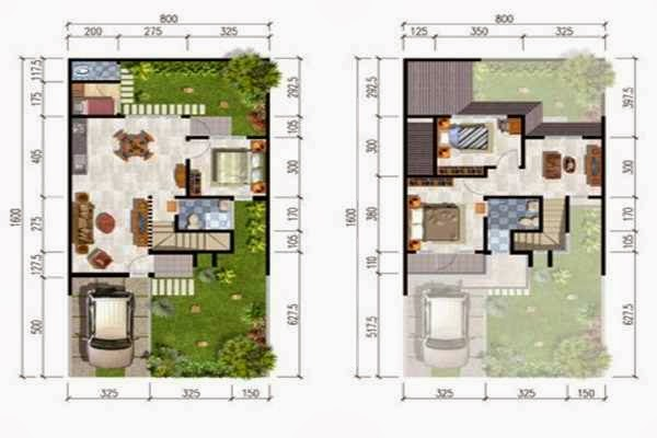 Rumah  Minimalis Cat Abu Abu terbaru Denah Rumah  Orang
