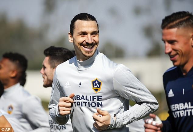 Ibrahimovic afurahia maisha LA Galaxy