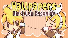Tutozzpatt Rin Len Kagamine Wallpapers Pack