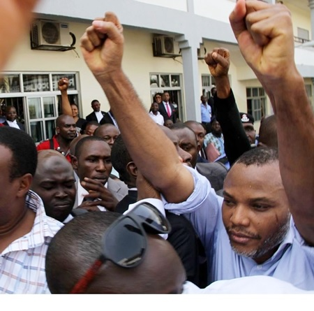 I Won't Allow Masquerades Testify Against Me - Nnamdi Kanu Blasts FG Today in Court