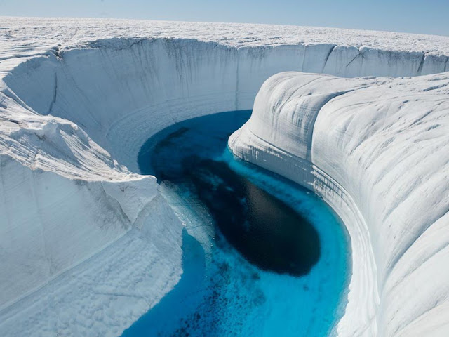 C4 Mapa Na Neve E Modo Noturno: O Cânion De Gelo Da Groelândia