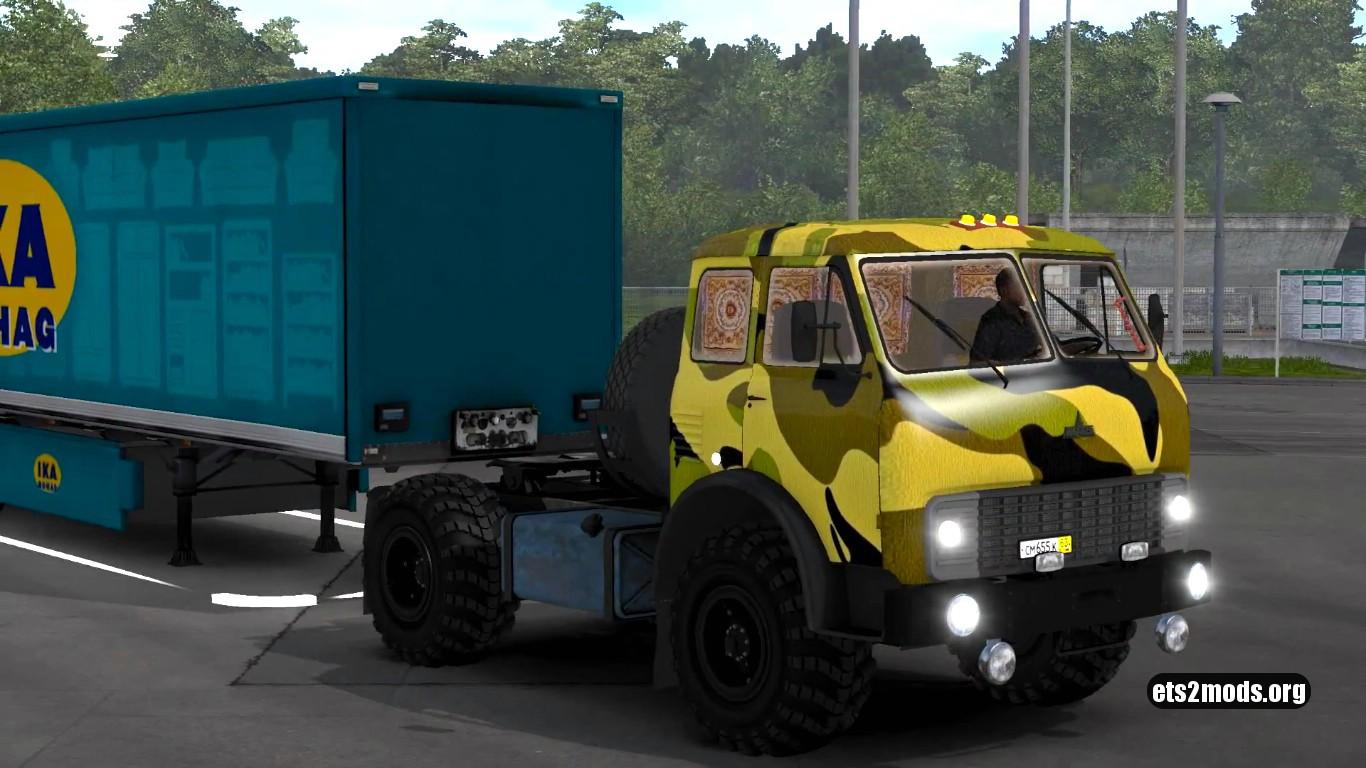 Truck – MAZ 504B V 2.6 [Reworked]