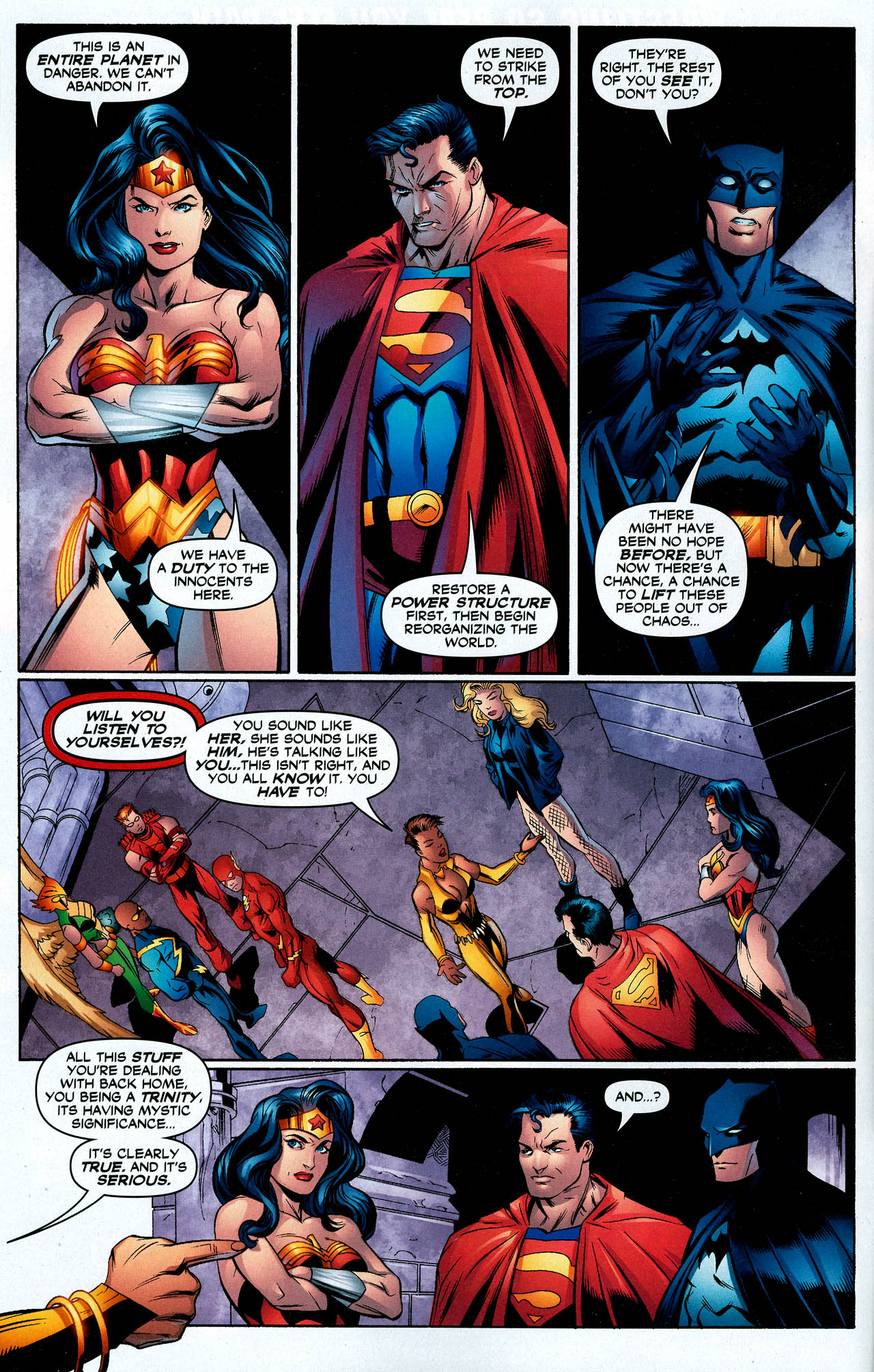 Read online Trinity (2008) comic -  Issue #14 - 9