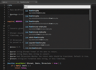 Goto Anything Sublime Text