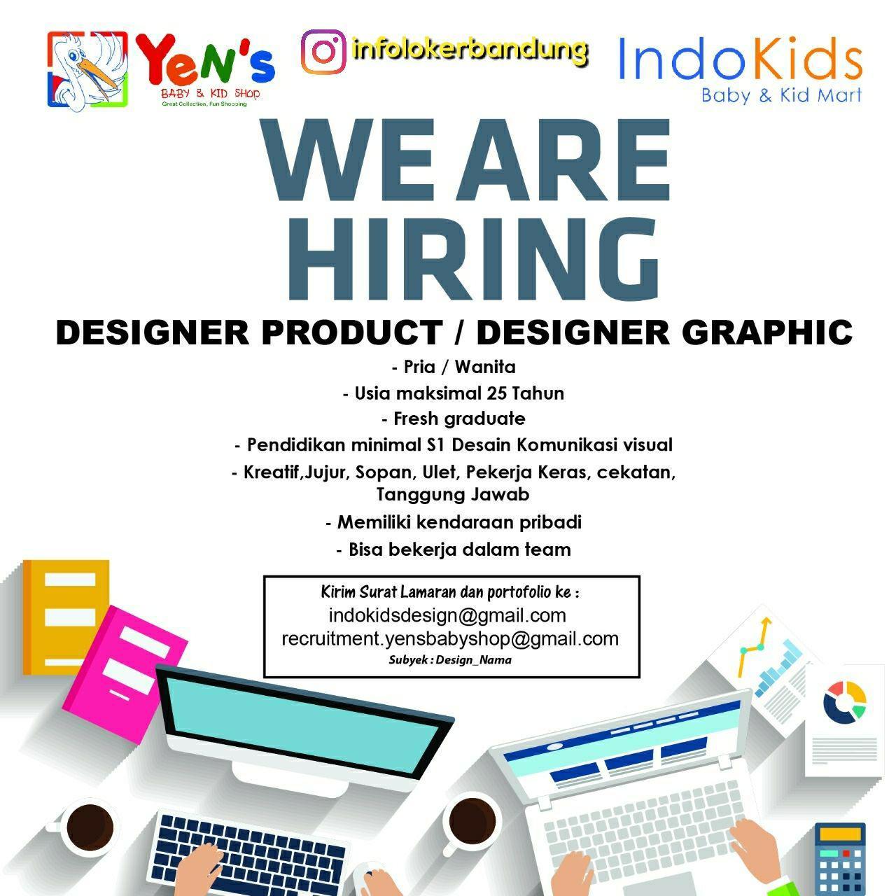 Lowongan Kerja Indo Kids Baby & Kids Mart Bandung November 2017