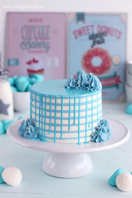 Tutorial tarta con rayas