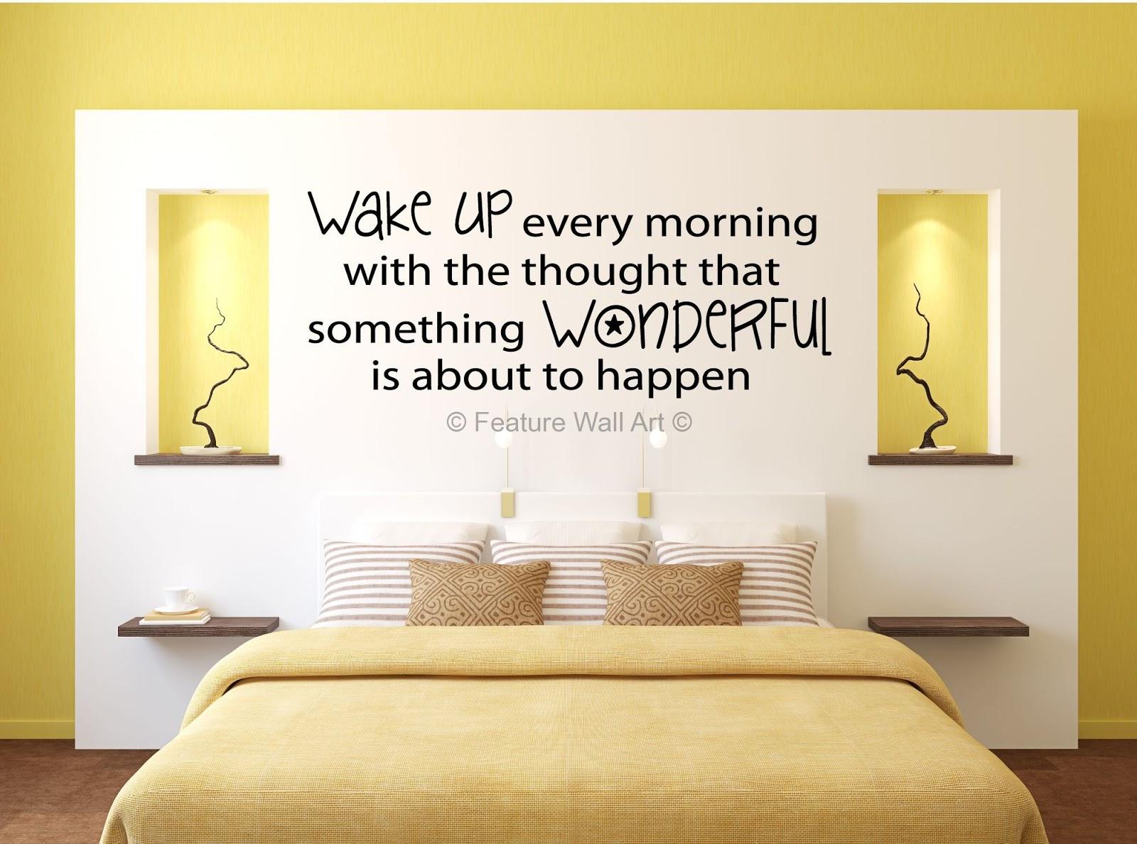 Bedroom Wall Decor Modern : Modern bedroom wall designs