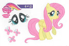 MLP Tattoo Card 4 Series 3 Trading Card