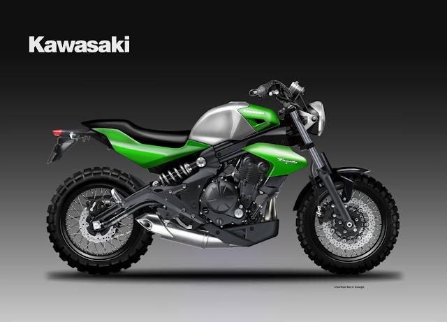 Kawasaki ER-6 Cafe Racer