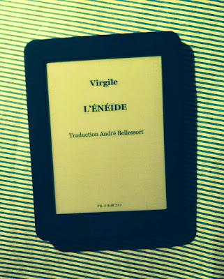 L'Énéide de Virgile en numérique trouvé sur la librairie Decitre