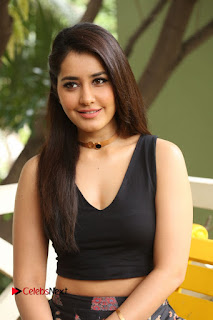 Actress Rashi Khanna Pictures at Hyper Movie Interview 0132