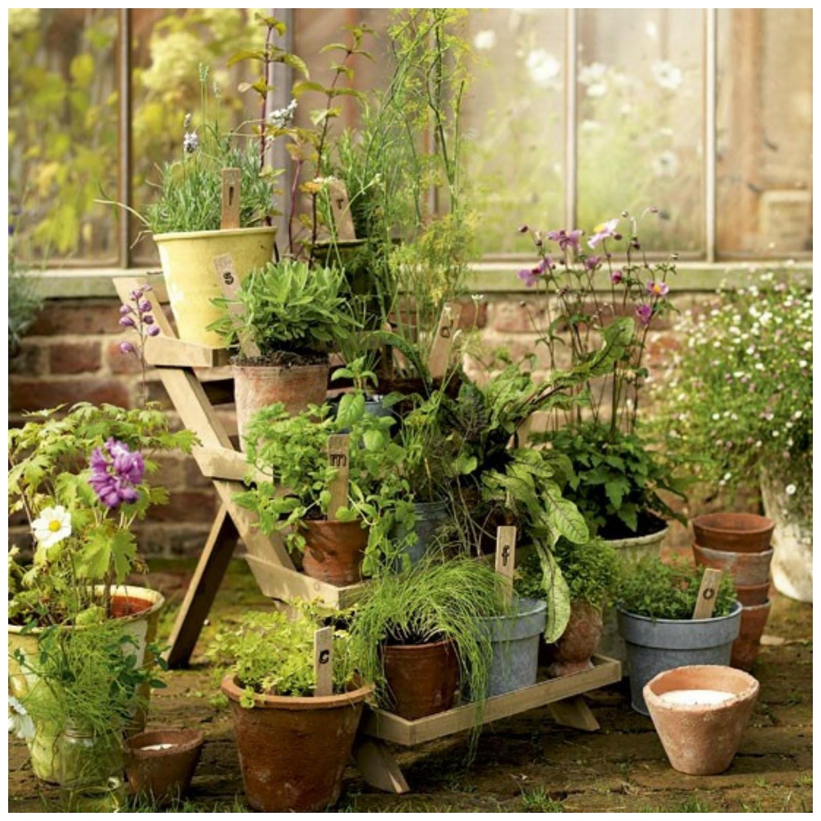 17 Lively Shabby Chic Garden Designs That Will Relax And: Y Tan Flamenca!: En El Jardín