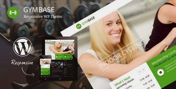 GymBase v8.8 Responsive Gym Fitness WordPress Theme