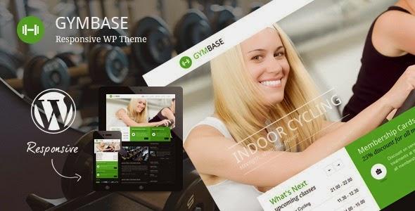 GymBase v8.8 Responsive Gym Fitness WordPress Theme