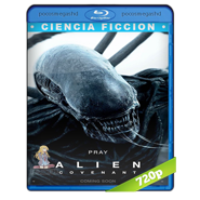 Alien Covenant (2017) BRRip 720p Audio Dual Latino-Ingles