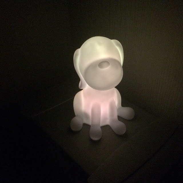 dog shaped child nightlight